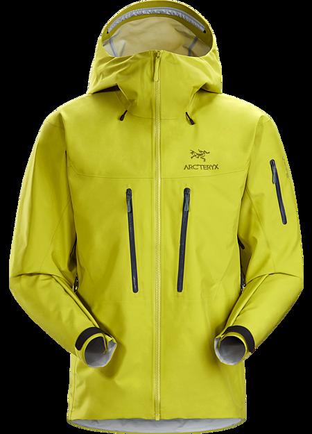 Arc'teryx Men's Alpha SV Jacket, Glade, Size XL