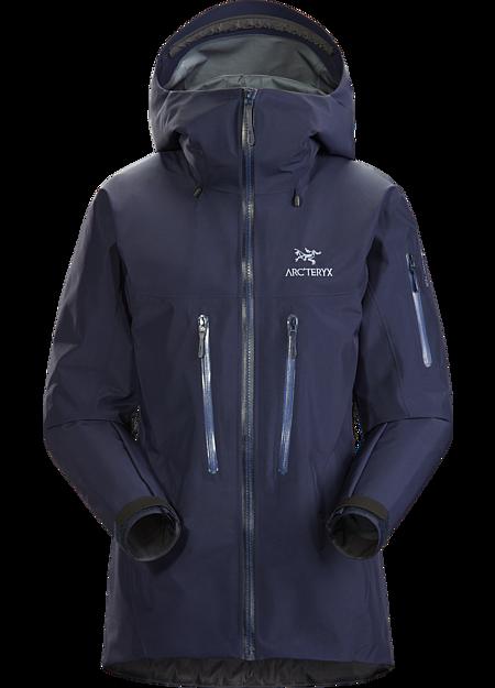 Arc'teryx Women's Alpha SV Jacket, Cobalt Moon, Size XL