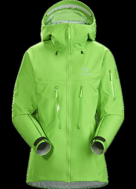 Arc'teryx Women's Alpha SV Jacket, Portal, Size S