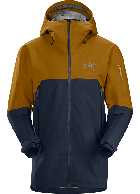 Arc'teryx Men's Rush Jacket ReBird, Kingfisher/sundance, Size S
