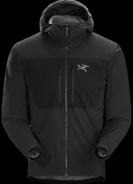 Arc'teryx Men's Proton FL Hoody, Black, Size S
