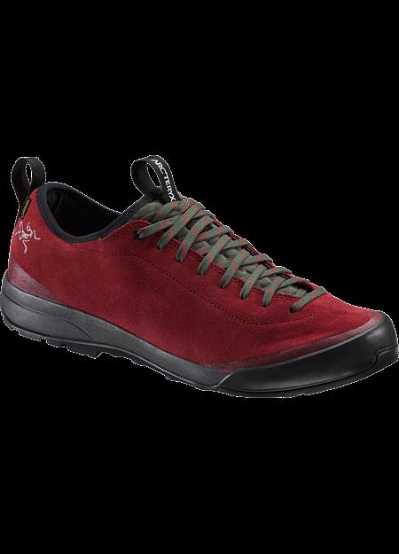 Chaussure d'approche en cuir Acrux SL GTX Men's Carmin/Windy Green