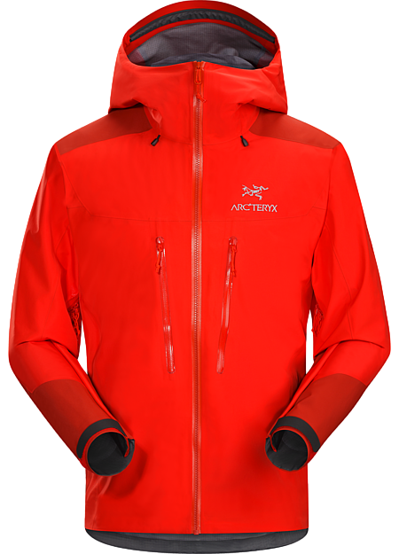 Versatile GORE-TEX® Pro jacket performs across a range of alpine conditions. Alpha Series: Climbing and alpine focused systems | AR: All Round.