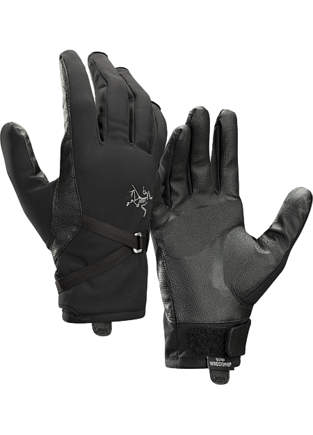 Highly dexterous GORE® WINDSTOPPER® glove ideal for ice and alpine routes.