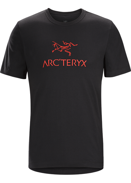 T-shirt with the Arc'teryx logo made with organically grown heavyweight cotton.
