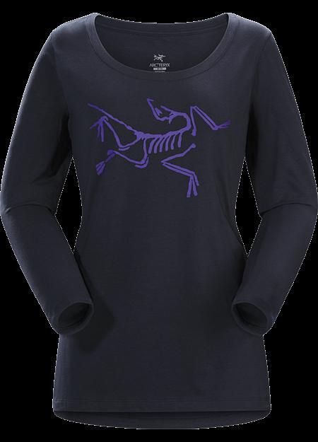 Archaeopteryx T-Shirt LS Women's Black Sapphire