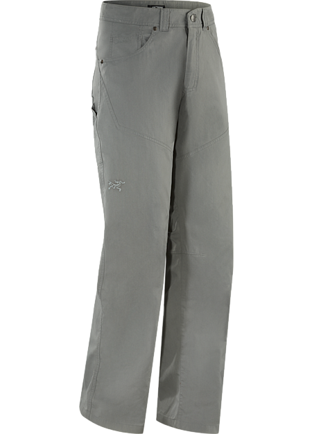 Versatile, durable cotton/nylon canvas work pant designed for a day at the crag and off the rock wear.