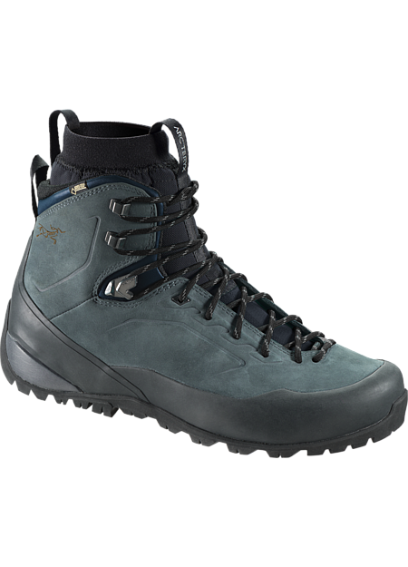 Bora2 Mid Leather GTX Hiking Boot Men's Grey Denim/Black