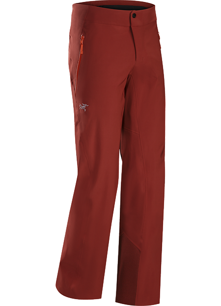 Dynamic stretch and GORE-TEX® protection in a streamlined men's ski pant.