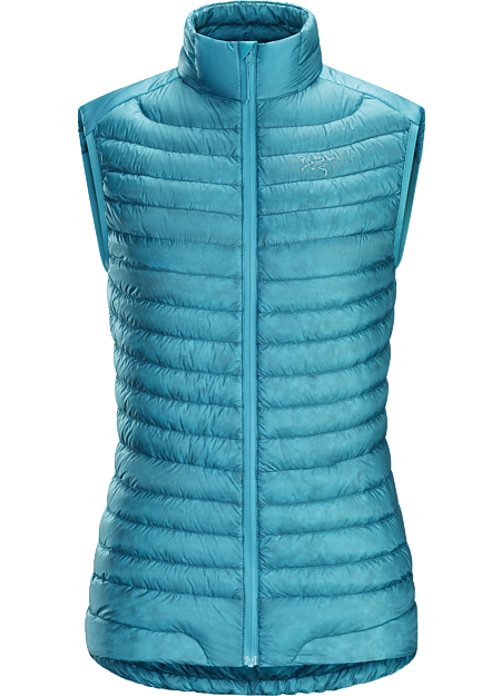 Women's minimalist 850 fill power down vest provides ultralight midlayer warmth in cold, dry conditions. Down Series: Down insulated garments | SL: Super Light.
