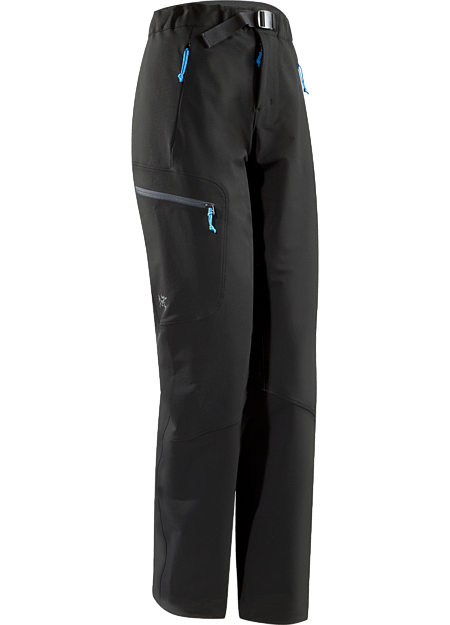 Women's all around softshell pant provides stretch, abrasion resistance, thermal performance and protection for alpine and rock climbing in three season conditions. Gamma Series: Softshell outerwear with stretch | AR: All-Round.