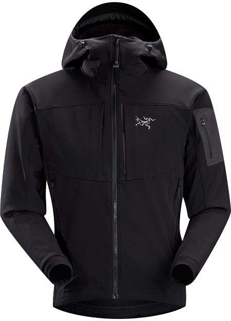 Gamma MX Hoody Men's Blackbird