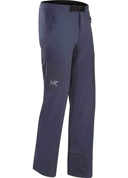 Lightly insulated, breathable soft shell pant with DWR durable water repellent treatment to resist light moisture; ideal for alpine and expedition climbing. Gamma Series: Softshell outerwear with stretch | MX: Mixed Weather.