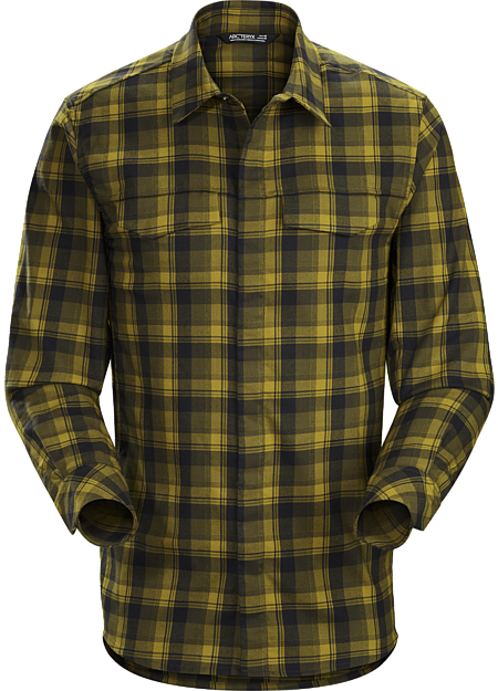 Gryson Shirt LS Men's Dark Moss Centaur
