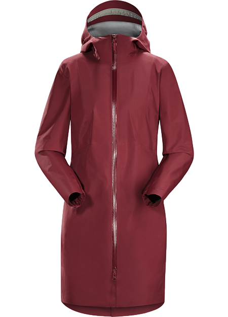 Lightweight, quiet, supple GORE-TEX® raincoat perfect for urban environments.