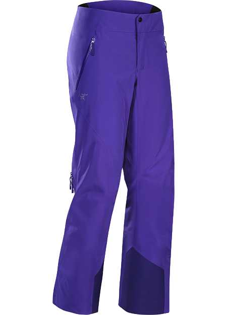 On area GORE-TEX® waterproof pants have light, warm Coreloft™ synthetic insulation and a low profile design for streamlined performance on colder days.