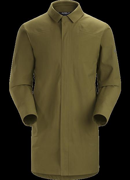 Keppel Trench Coat Men's Dark Moss