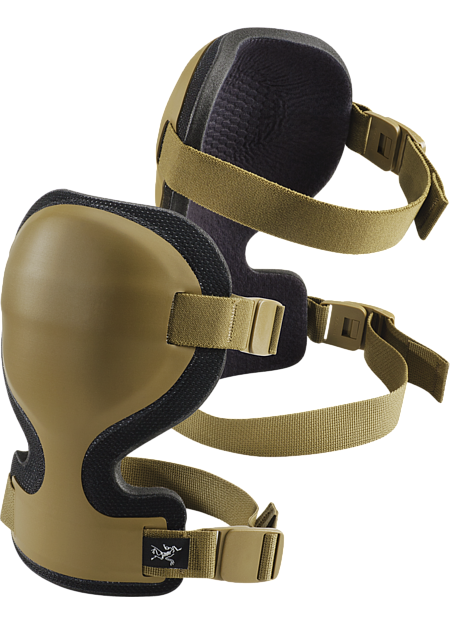 Lightweight, anatomically-shaped knee protectors