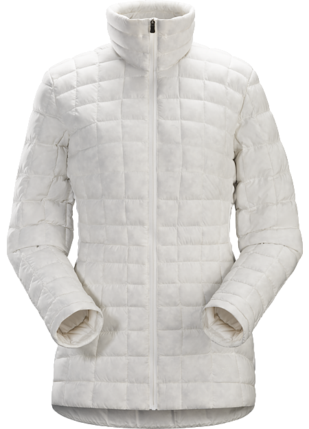Light, casual down jacket for warmth around town.