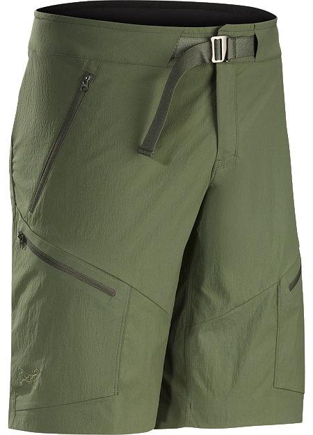 Tough, light, technical nylon short delivers air permeable, quick drying comfort for hiking, trekking and backpacking.