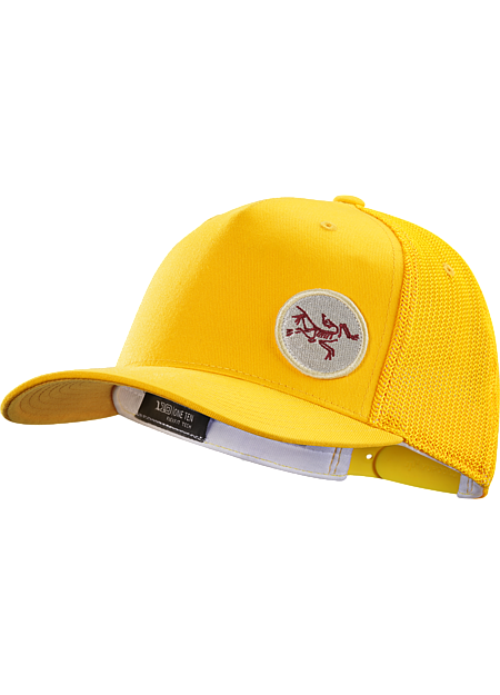 Patch Trucker Hat  Golden Poppy