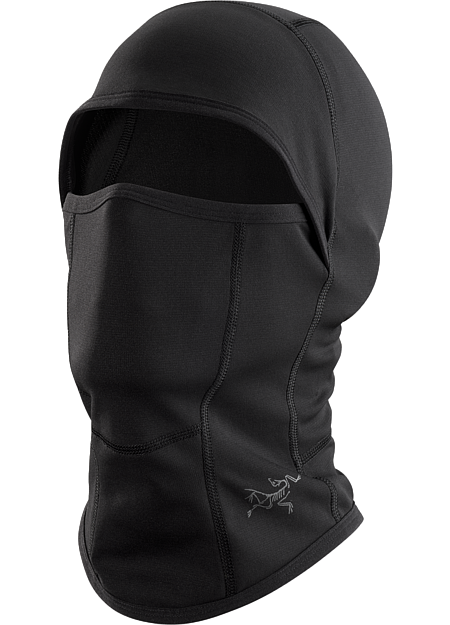 Full face coverage balaclava constructed with breathable, moisture-wicking Phase™ base layer textile. Phase Series: Moisture wicking base layer | AR: All-Round.
