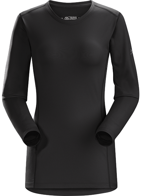 Phase AR Crew LS Women's Black