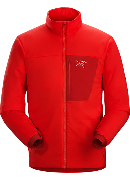 Proton LT Jacket Men's Cardinal