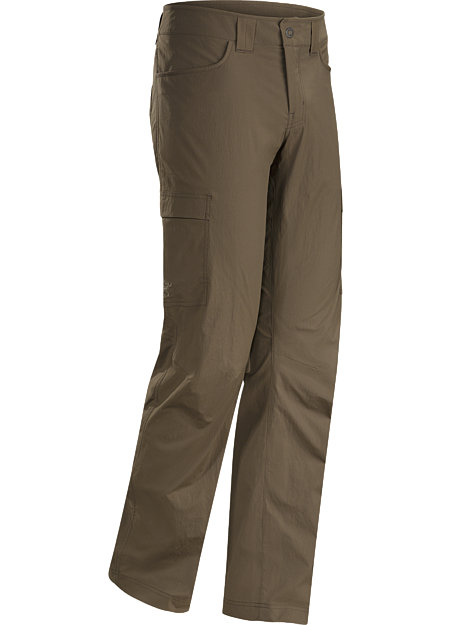 Lightweight, air permeable TerraTex™ nylon trekking pants patterned for maximum mobility.
