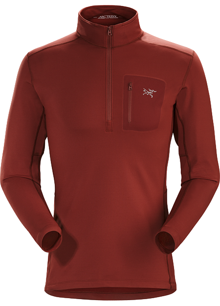 Rho LT Zip Neck Men's Pompeii