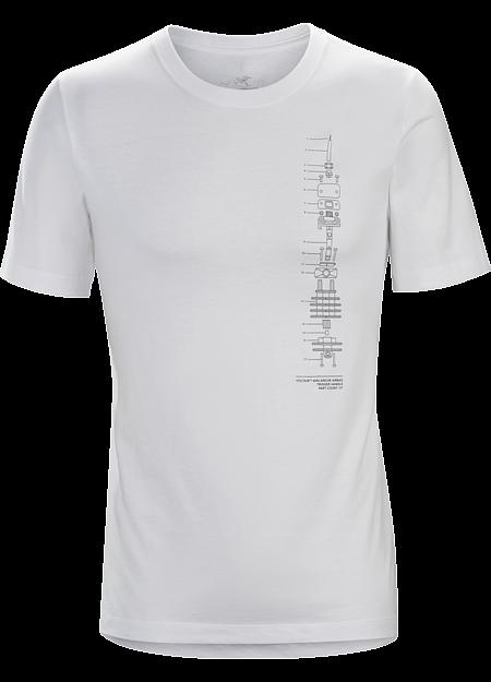 Schematic T-Shirt Men's White