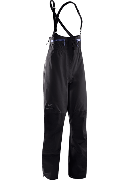 High waisted, waterproof and durable GORE-TEX® bib pant, designed specifically for women. Theta Series: All-round mountain apparel with increased coverage | SV: Severe Weather.
