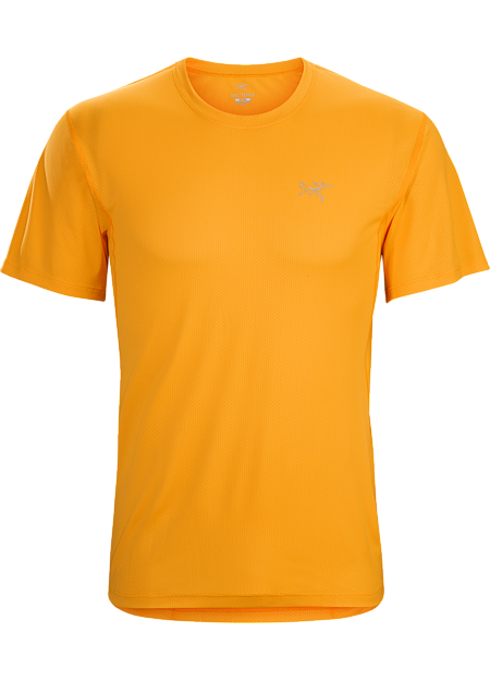Lightweight, air permeable Libro™ short sleeve polyester mesh shirt designed for maximum airflow while running, hiking or trekking in hot weather.