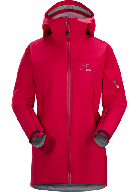 Versatile women's trekking and hiking shell features the comfortable waterproof breathable protection of GORE-TEX® fabric with GORE® C-KNIT™ backer technology.