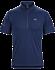 Accelerator Zip Neck Shirt SS Men's Inkwell