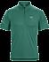 Accelerator Zip Neck Shirt SS Men's Planktonic