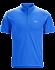 Accelerator Zip Neck Shirt SS Men's Rigel