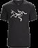 T-shirt Archaeopteryx Men's Black/White