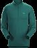 Cormac Zip Neck Shirt LS Men's Planktonic