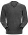 Donavan V-Neck Sweater Men's Dark Grey Heather