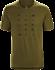 Hut T-Shirt Men's Roman Pine