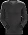 T-shirt Col en V Sirrus ML Men's Black Heather