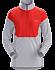 Taema Zip Neck Shirt LS Women's Rad/Athena Grey