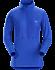 Taema Zip Neck Shirt LS Women's Somerset Blue