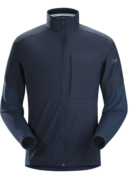 GORE WINSTOPPER® and Velolain™ fleece combine in a jacket for urban cyclists.