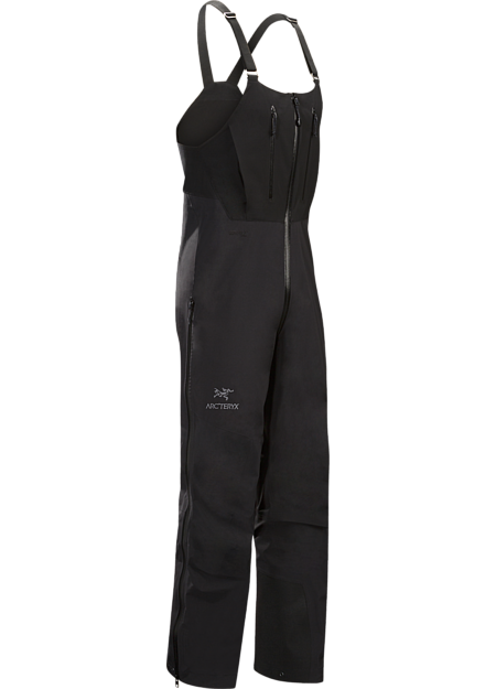 Exceptionally hardwearing N80p-X GORE-TEX Pro bib for climbing and alpine work in severe conditions. Alpha Series: Climbing and alpine focused systems | SV: Severe Weather.