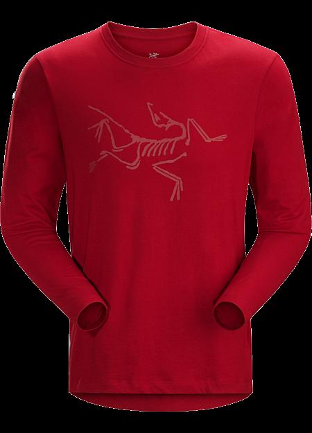 アーキオプテリクス LS Tシャツ Men's Red Beach