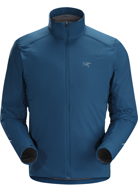 Highly breathable, wind and weather resistant Octa® Loft insulated jacket for high output activities in cold conditions.