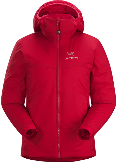 Atom AR Hoody Women's Pomegranate