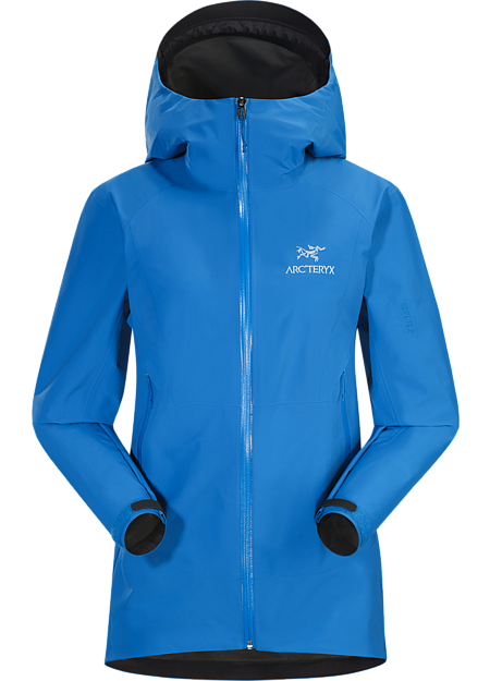 Superlight, compressible women's GORE-TEX jacket with Paclite® product technology. Designed for packable emergency weather protection. Beta Series: All round mountain apparel | SL: Superlight.